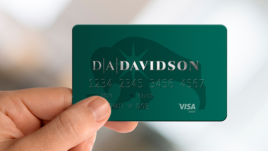 D.A. Davidson Credit Cards and Debit Cards